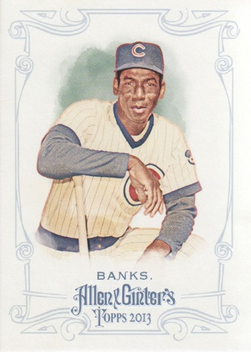 Photo of 2013 Topps Allen and Ginter #25 Ernie Banks