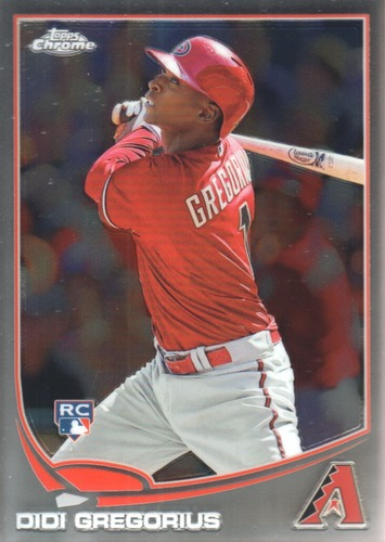 Photo of 2013 Topps Chrome #65 Didi Gregorius Rookie Card