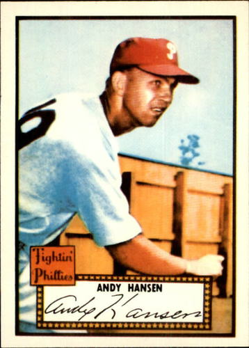 Photo of 1983 Topps 1952 Reprint #74 Andy Hansen