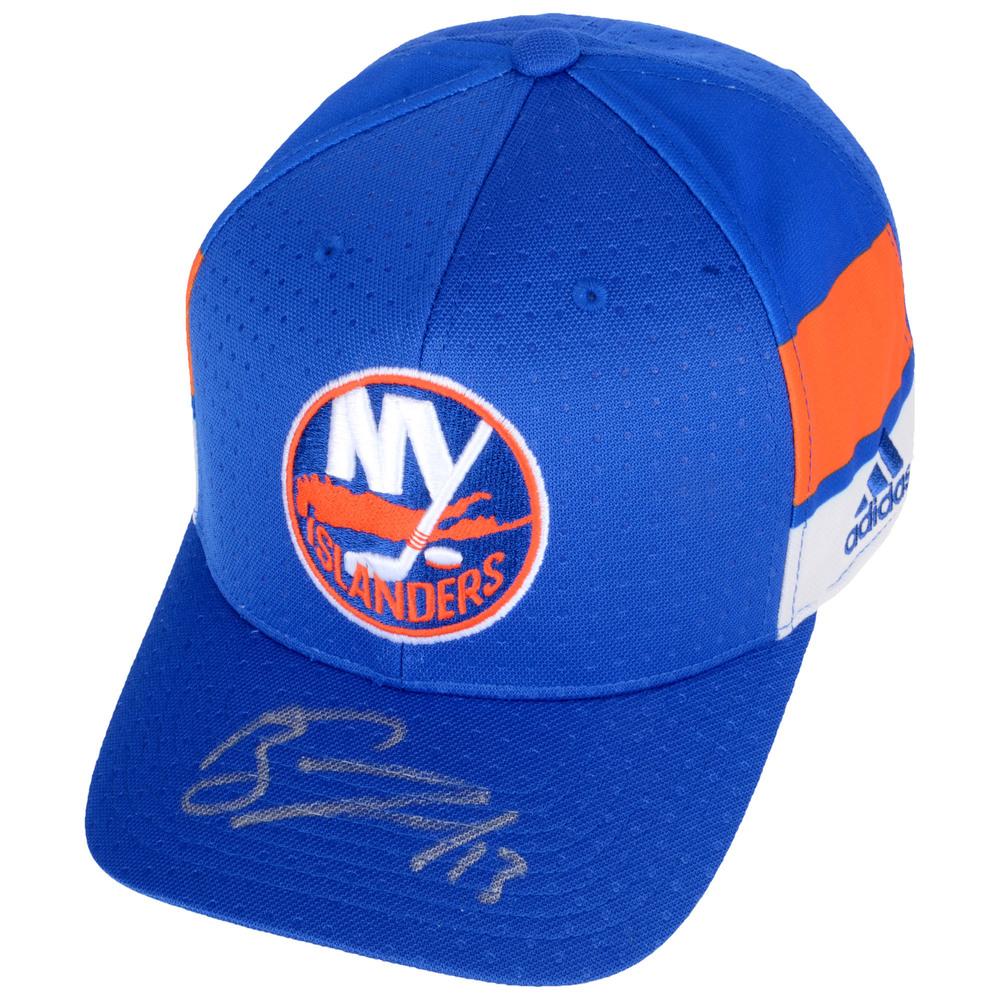 Mathew Barzal New York Islanders Autographed Cap - #1 of a L.E. of 13
