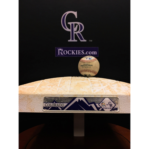 Photo of Marlins vs. Rockies Bundle - Stanton Double - First Base Innings 1-3 - 9/26/17