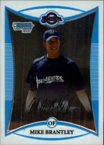 Photo of 2008 Bowman Chrome Prospects #BCP38 Mike Brantley