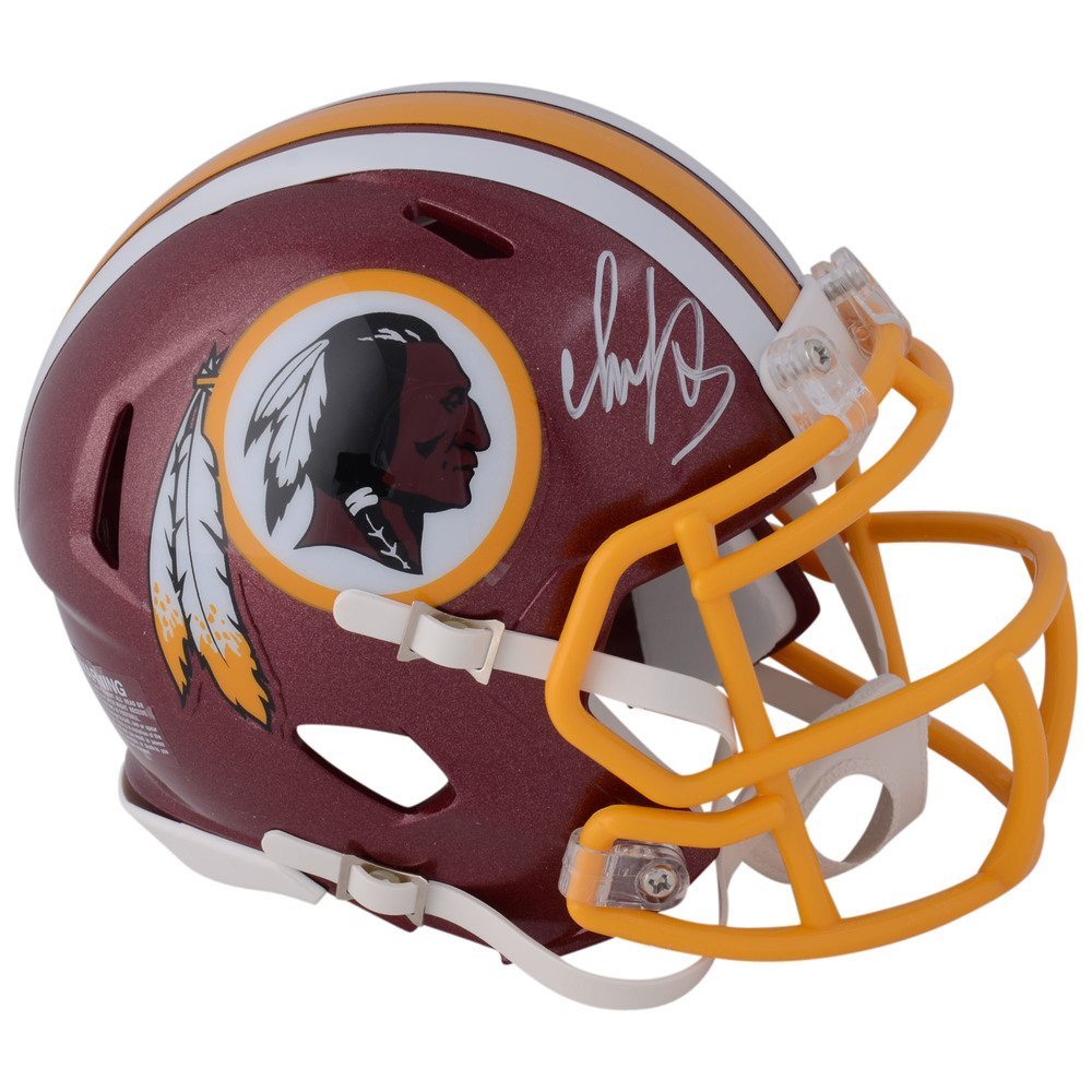 Alex Ovechkin Washington Capitals Autographed Washington Redskins Mini Helmet