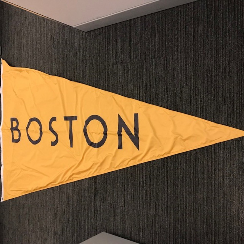 2019 NHL Winter Classic Boston Bruins Flag