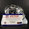 HOF - Raiders Mike Haynes Signed Chrome Mini Helmet