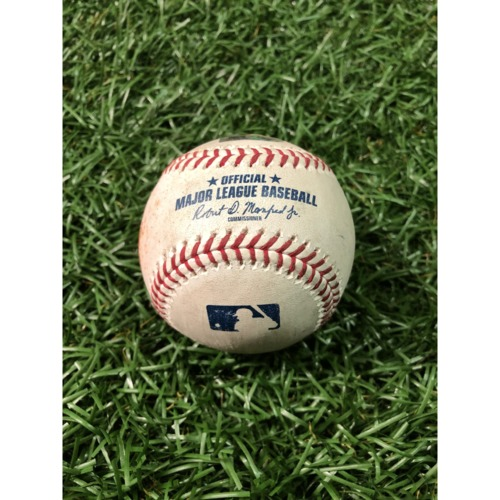 Photo of Game-Used Baseball: Joey Rickard triple and Richie Martin RBI single off Adam Kolarek - April 18, 2019 v BAL
