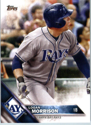 Photo of 2016 Topps #469 Logan Morrison