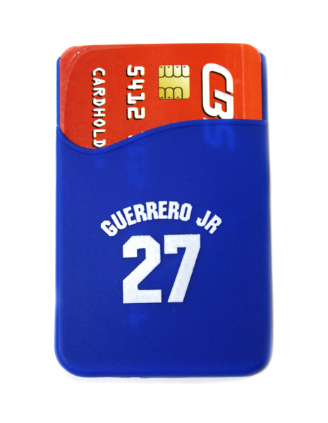 Toronto Blue Jays Guerrero Jr. Silicone Phone Wallet by Coopersburg Sports