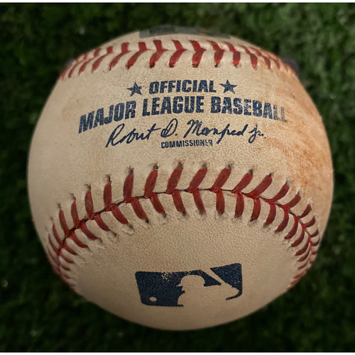 Photo of Anthony Rendon Game Used Hit Double Baseball - September 9, 2019