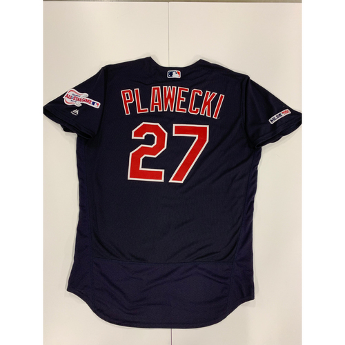 Photo of Kevin Plawecki 2019 Team Issued Alternate Road Jersey