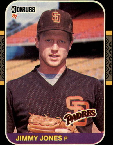 Photo of 1987 Donruss #557 Jimmy Jones RC