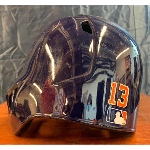 Photo of 2019 Game-Used Tyler White Batting Helmet (Size 7 3/8)