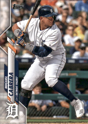 Photo of 2020 Topps #336 Miguel Cabrera