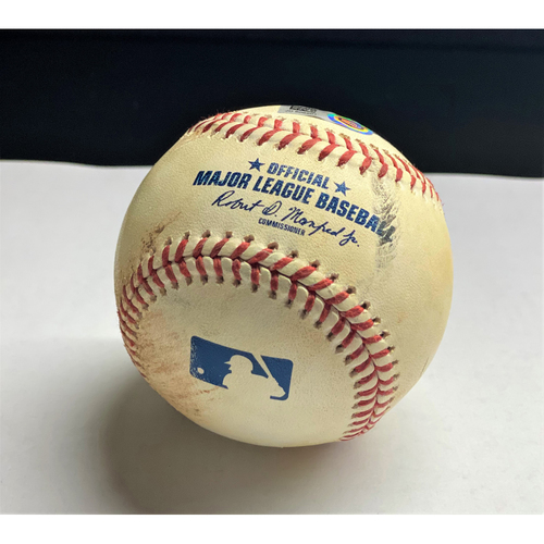 Photo of Niko Goodrum 2020 Opening Day Triple Baseball (MLB AUTHENTICATED)