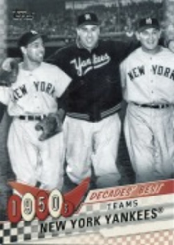 Photo of 2020 Topps Decades' Best Series 2 #DB6 New York Yankees