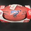 NFL - Bears Eddie Jackson Signed Authentic Football W/ 100 Seasons