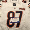London Games - Bears Adam Shaheen Game Used Jersey with 100th AnniversaryPatch (10/6/19) Size 44