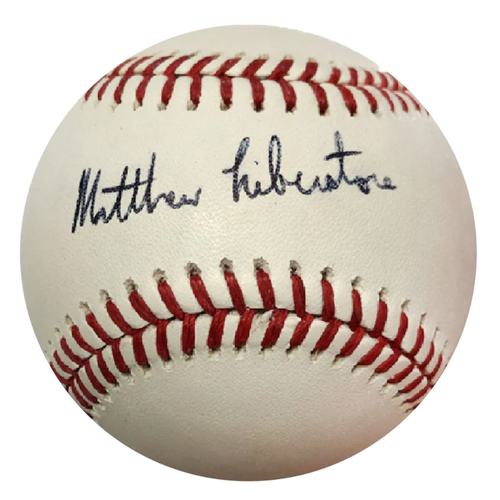 Photo of Cardinals Authentics: Matthew Liberatore Autographed Baseball