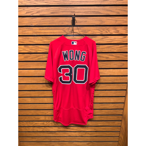 Photo of Connor Wong Team Issued 2020 Spring Training Jersey