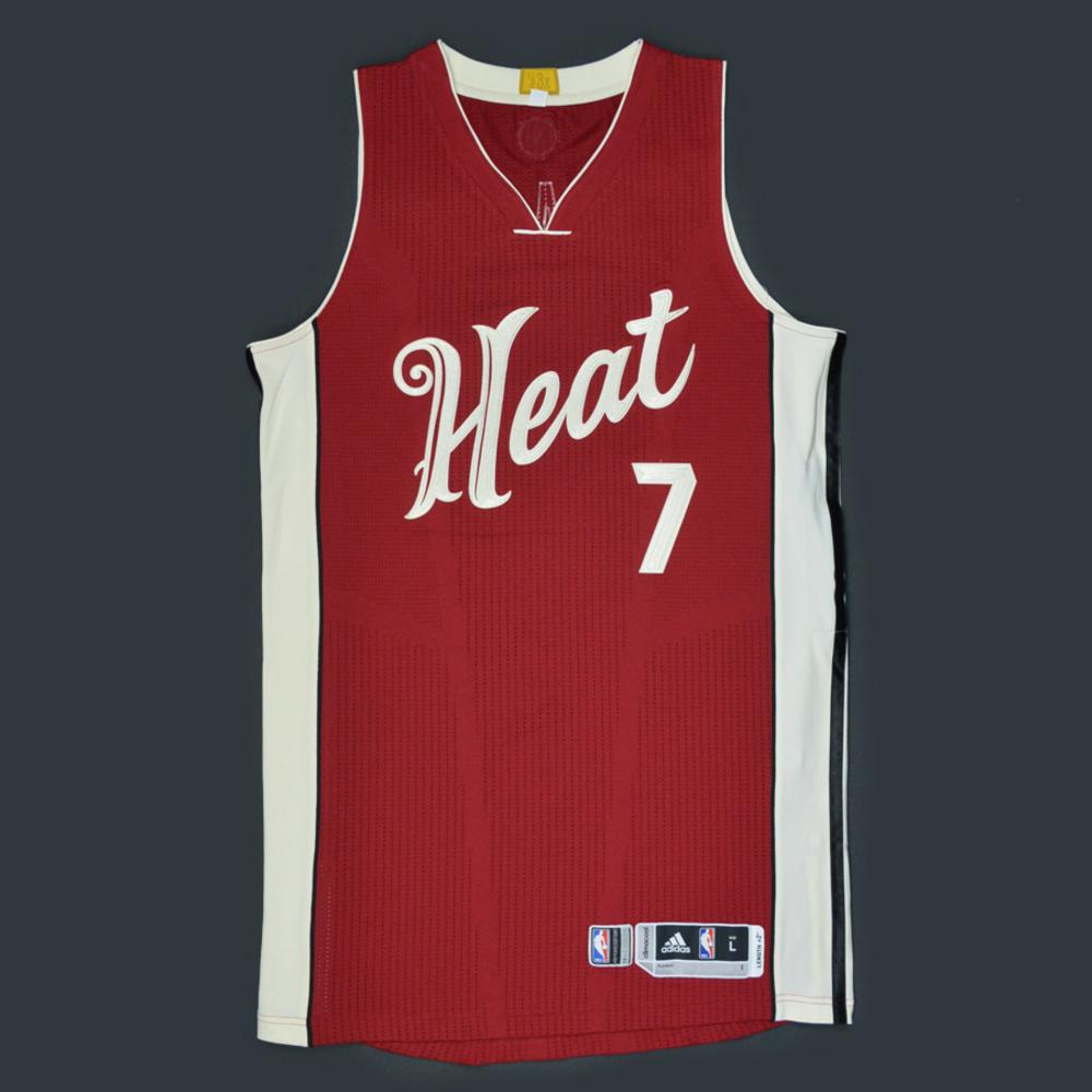 premium selection beabb 2e538 Goran Dragic - Miami Heat - Game-Worn Jersey - NBA Christmas ...