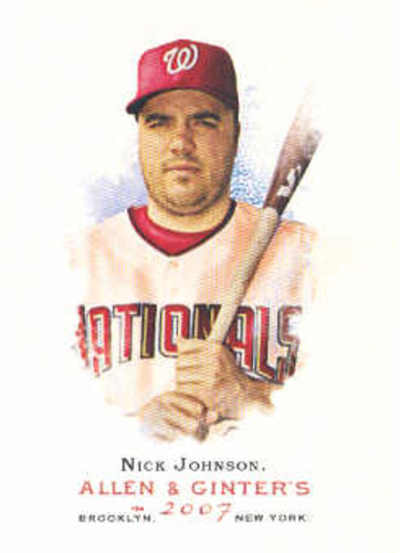 Photo of 2007 Topps Allen and Ginter #285 Nick Johnson