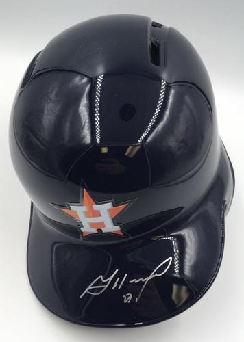 Jose Altuve Autographed Astros Batting Helmet