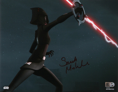 Sarah Michelle Gellar as Seventh Sister 8x10 Autographed In Red Ink Photo