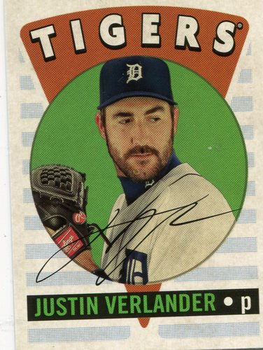 Photo of 2017 Topps Archives '16 Retro Original #RO8 Justin Verlander