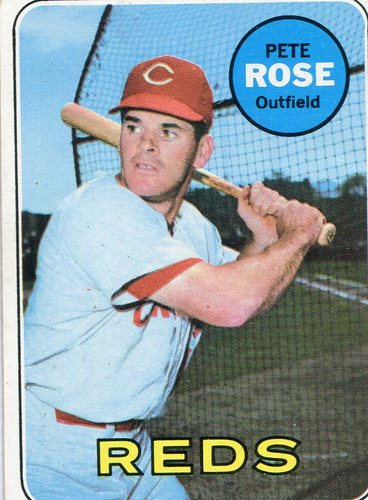 Photo of 1969 Topps #120 Pete Rose