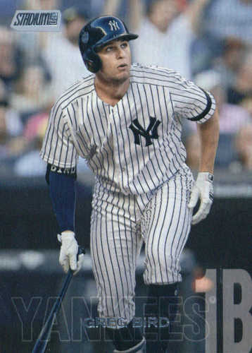 Photo of 2018 Stadium Club #186 Greg Bird