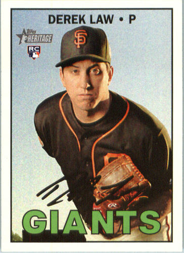 Photo of 2016 Topps Heritage #697 Derek Law RC