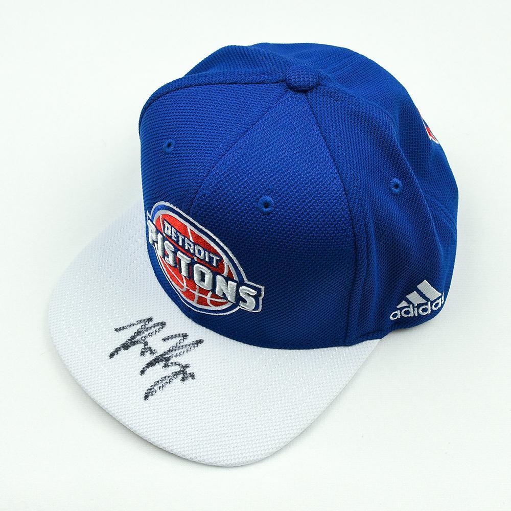 Bruce Brown - Detroit Pistons - 2018 NBA Draft Class - Autographed Hat