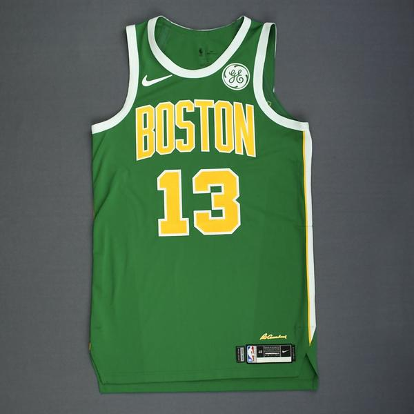 Marcus Morris - Boston Celtics - Christmas Day  18 - Game-Worn Earned City  Edition Jersey - Score. baddccd4f