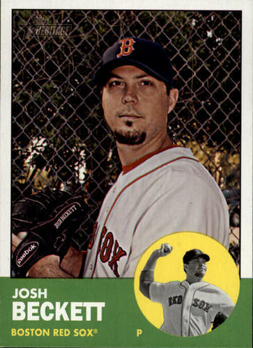 Photo of 2012 Topps Heritage #28 Josh Beckett