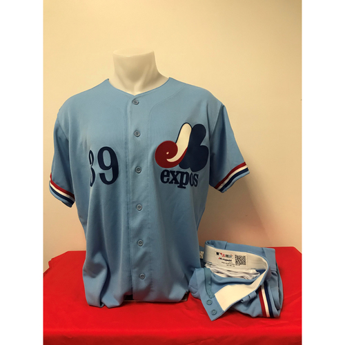 Photo of Jonny Venters Expos Gear: Game-Used Jersey and Game-Used Pants