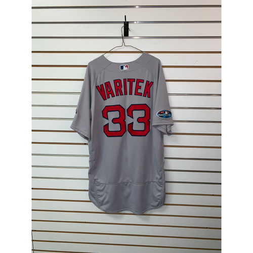 Jason Varitek Team Issued 2018 Postseason Road Jersey