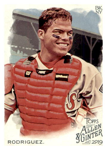 Photo of 2019 Topps Allen and Ginter #90 Ivan Rodriguez