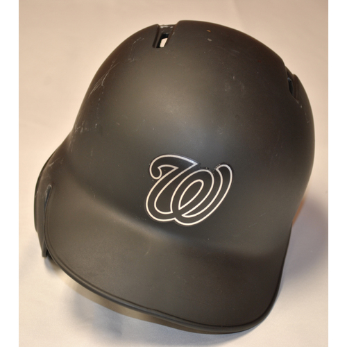 "Photo of Matt ""BIG CITY"" Adams Washington Nationals Game-Used 2019 Players' Weekend Helmet"