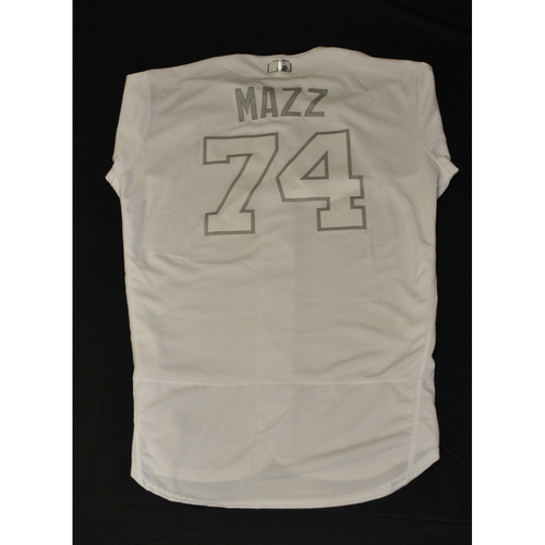 "Photo of Chris ""MAZZ"" Mazza New York Mets Game-Used 2019 Players' Weekend Jersey"