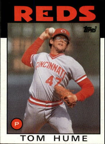 Photo of 1986 Topps #573 Tom Hume