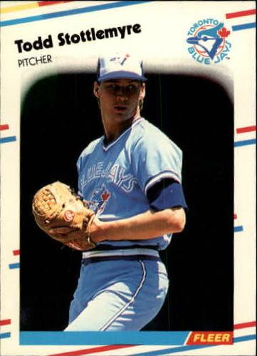 Photo of 1988 Fleer Update #68 Todd Stottlemyre XRC
