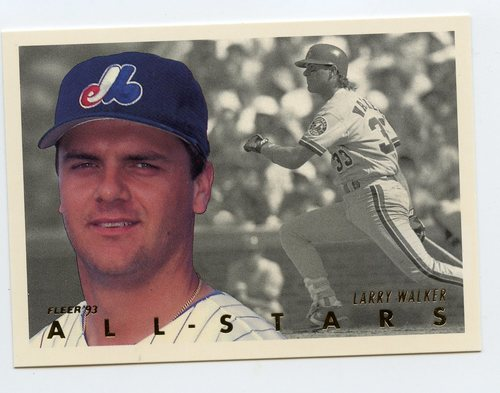 Photo of 1993 Fleer All-Stars #NL6 Larry Walker