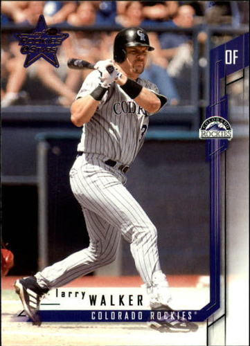 Photo of 2001 Leaf Rookies and Stars #80 Larry Walker