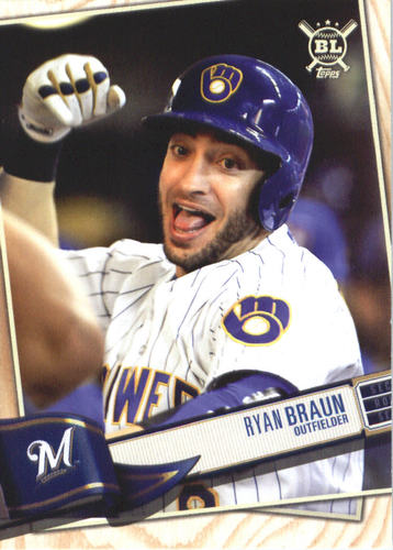 Photo of 2019 Topps Big League #43 Ryan Braun