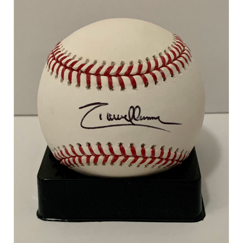 Photo of Randy Johnson Autographed Baseball - Not MLB Authenticated - D-backs Certificate of Authenticity Included
