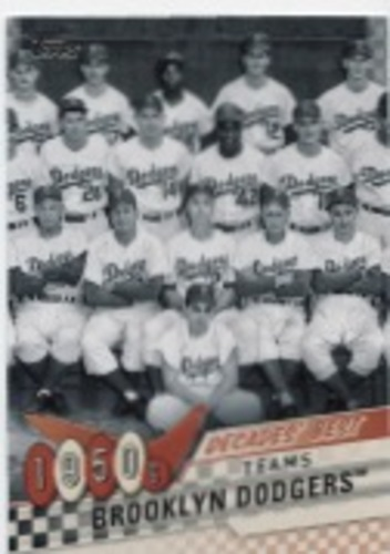 Photo of 2020 Topps Decades' Best Series 2 #DB7 Brooklyn Dodgers