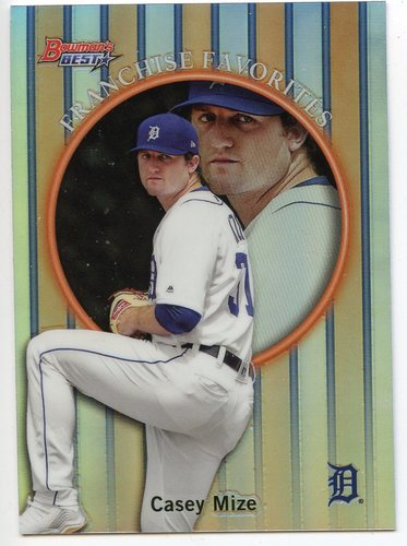 Photo of 2019 Bowman's Best '99 Franchise Favorites Refractors #99FFCM Casey Mize