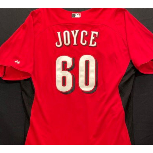 Photo of JOYCE -- Authentic Reds Jersey -- $1 Jersey Auction -- $5 Shipping -- Size 46 (Not MLB Authenticated)
