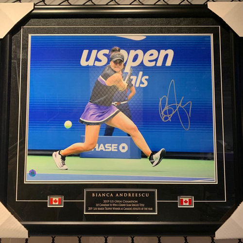 Bianca Andreescu 2019 US Open Champion Signed 16