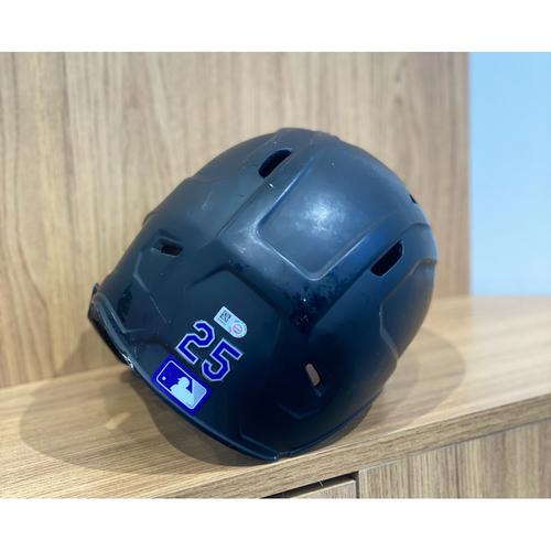 Photo of 2021 Team-Issued Batting Helmet - #25
